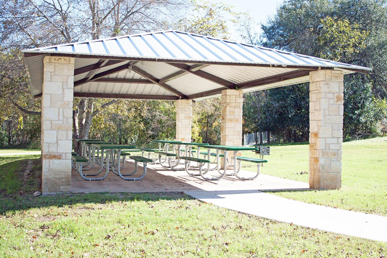 Chautauqua Park Pavilion in Georgetown, TX
