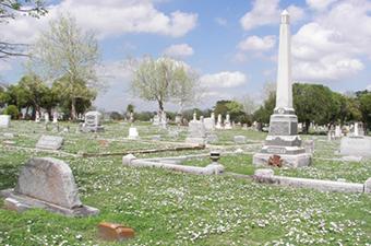 IOOF Cemetery in Georgetown, TX