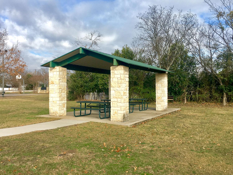 San Jose Park Pavilion in Georgetown, TX