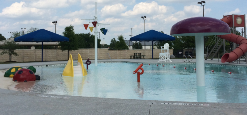 Outdoor Pool at the Georgetown Recreation Center in Georgetown, TX