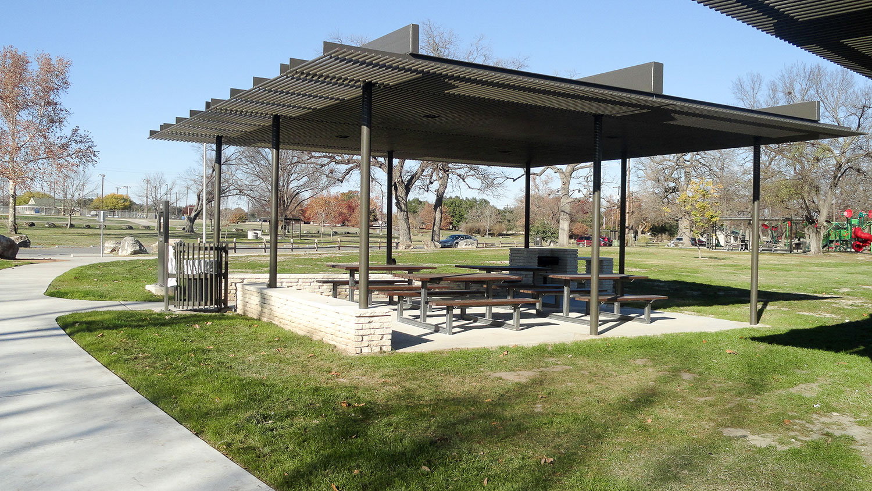 Cattail Pavilion in San Gabriel Park
