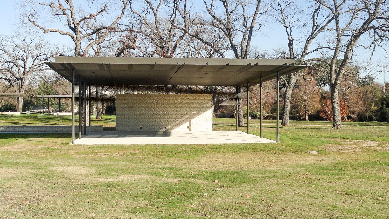 Legacy Pavilion in San Gabriel Park