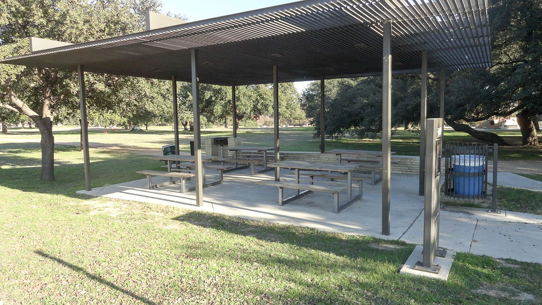 Sycamore Pavilion in San Gabriel Park