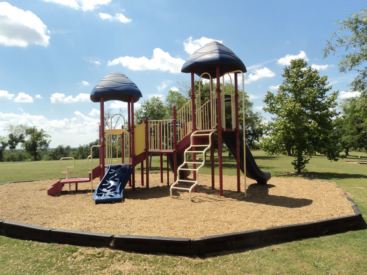 Playscape at Pinnacle Park in Georgetown, TX
