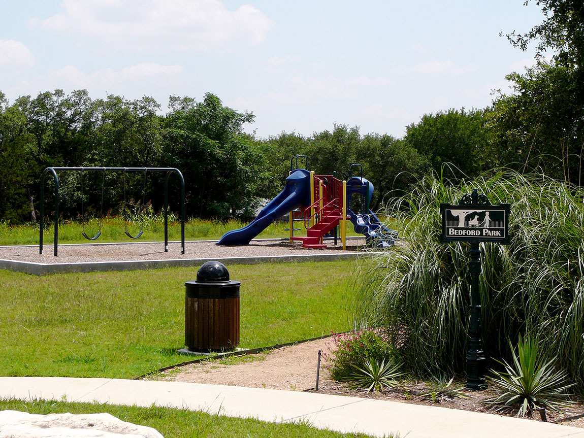 Playscape at Bedford Park in Georgetown, TX