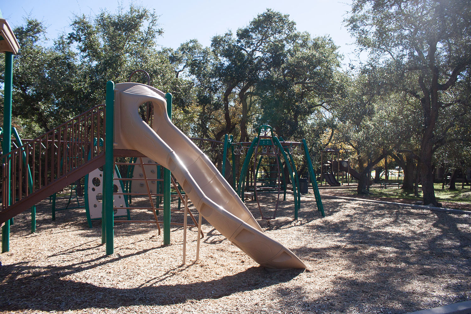 Playscape at Berry Creek Park in Georgetown, TX