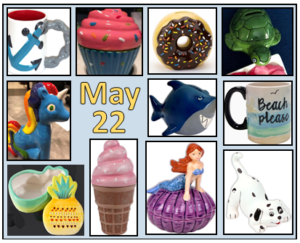 Pottery items for sale at May 22 event