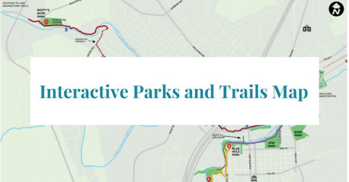 Interactive Parks and Trails Map