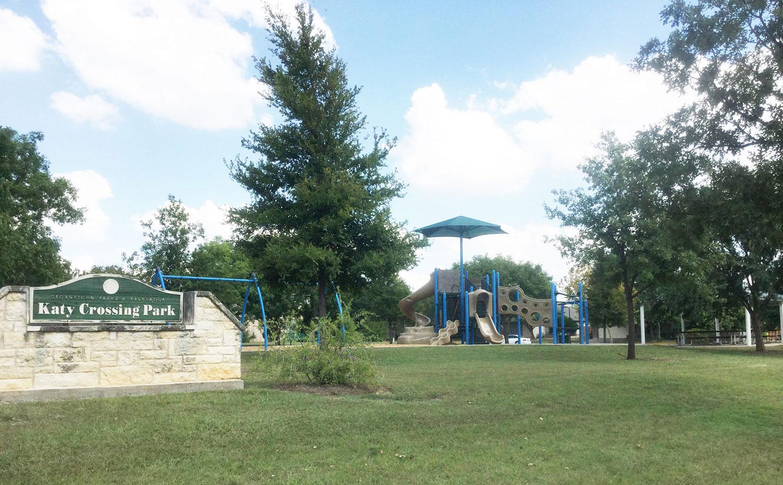 Katy Crossing Park in Georgetown, TX