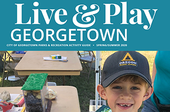 Live&Play Georgetown Spring Summer 2020 Guide Cover