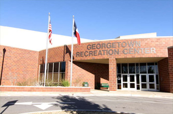 Entrance at the Georgetown Recreation Center
