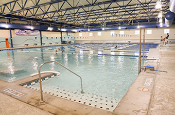 Indoor Pool at the Georgetown Recreation Center in Georgetown, TX