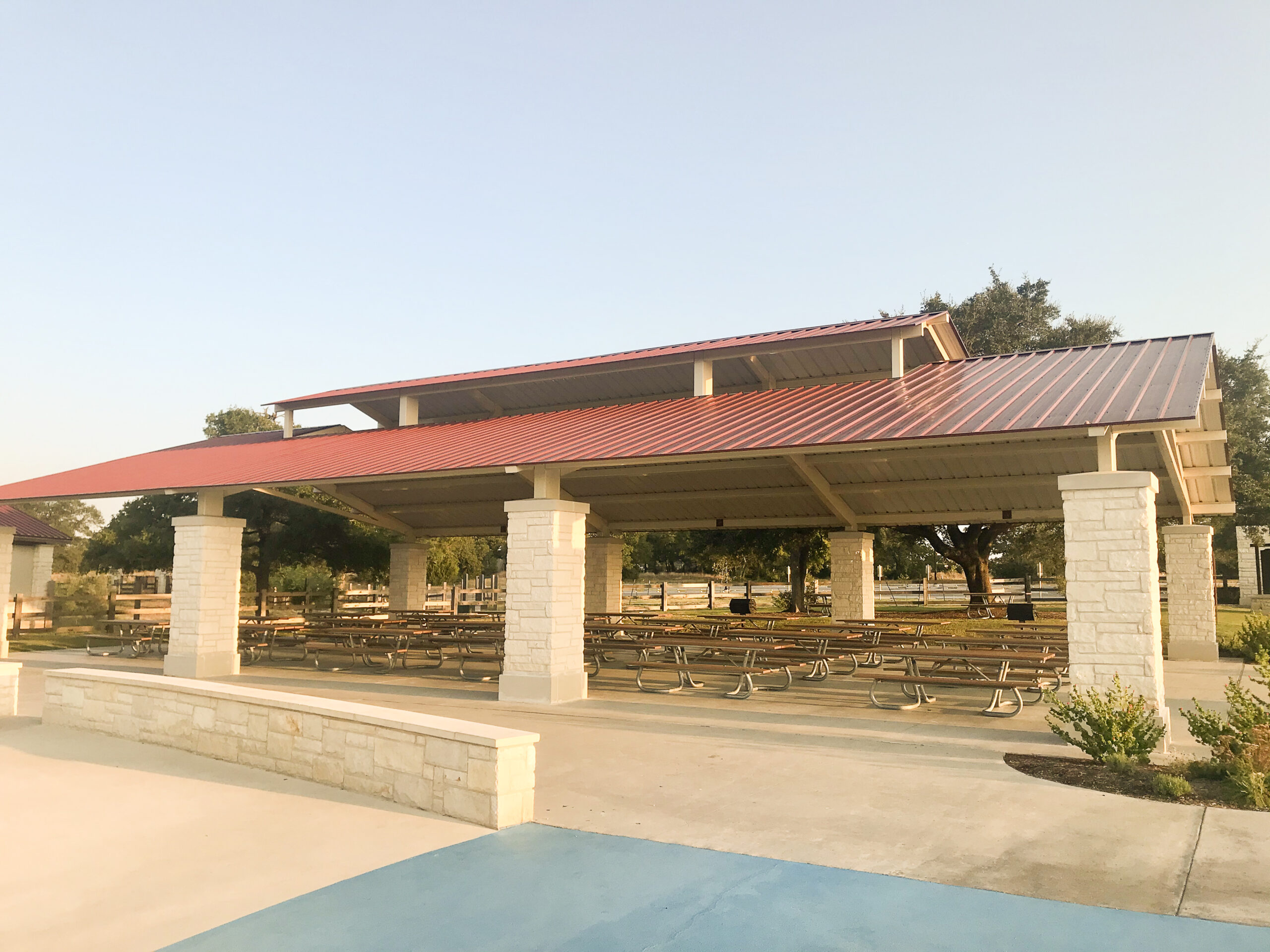 Triple Crown Pavilion at Garey Park in Georgetown, TX