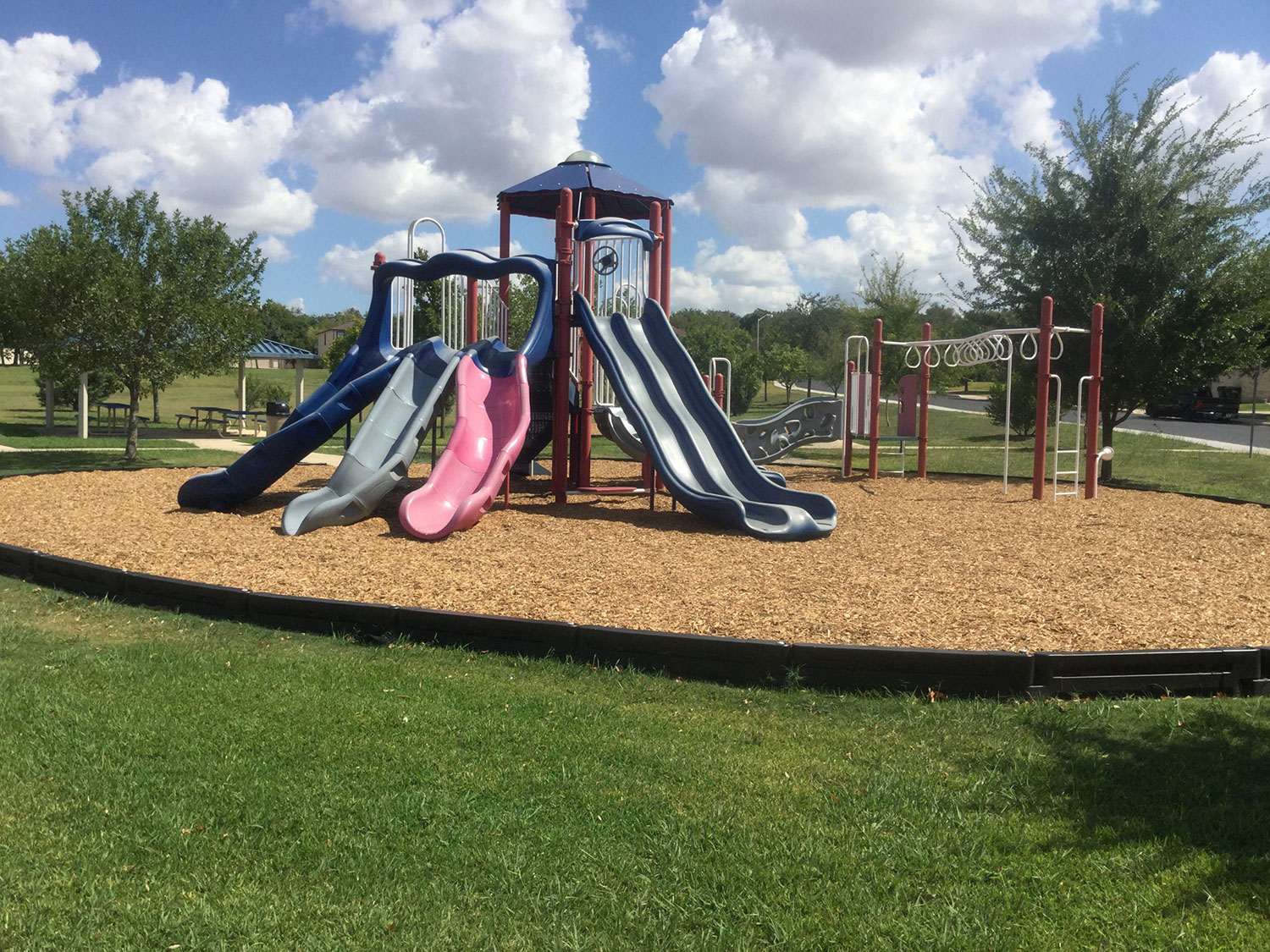 Playscape at University Park in Georgetown, TX