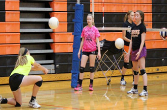 Volleyball Skills Development