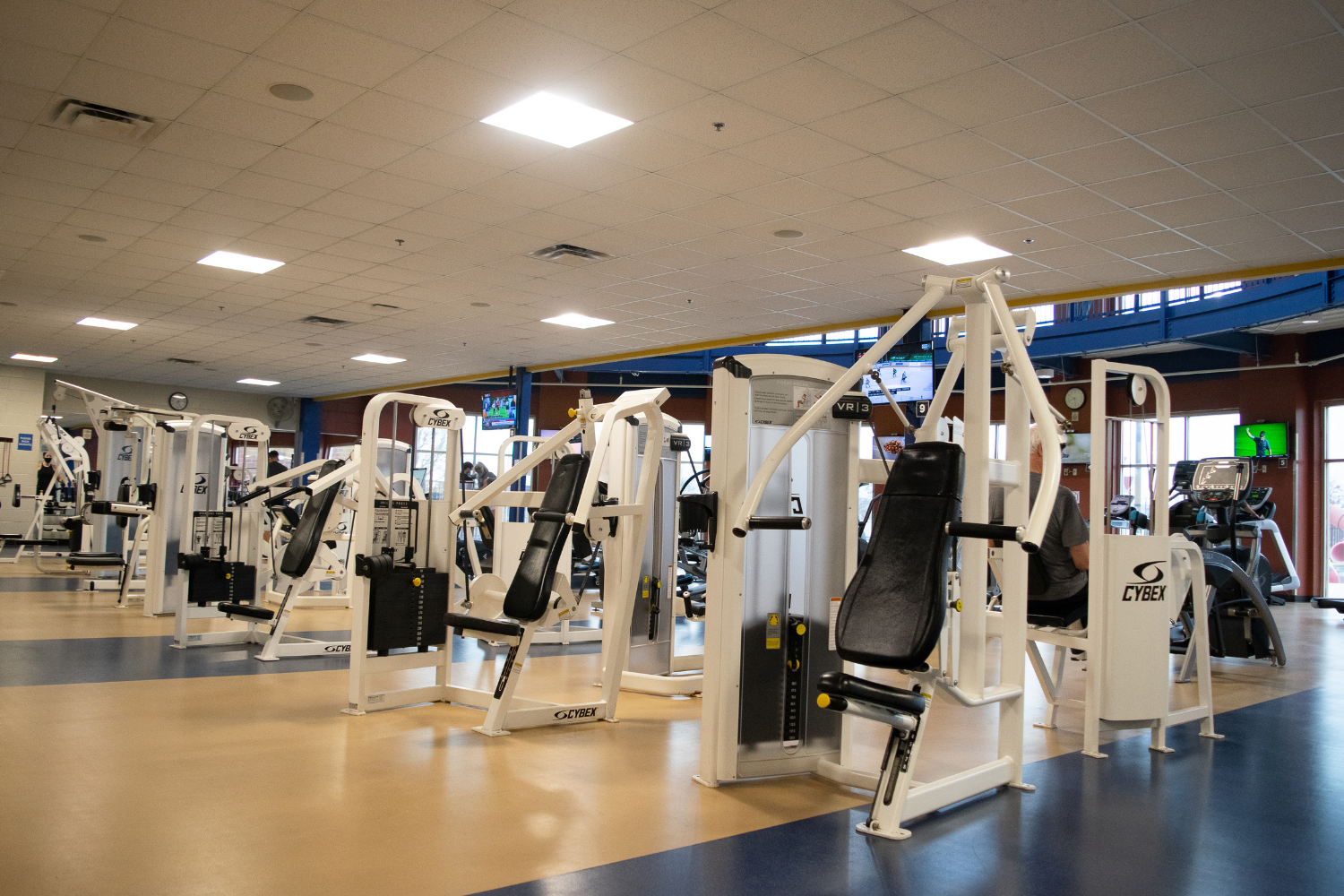Weightroom at the Georgetown Recreation Center