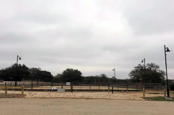 Equestrian Arena at Garey Park in Georgetown, TX