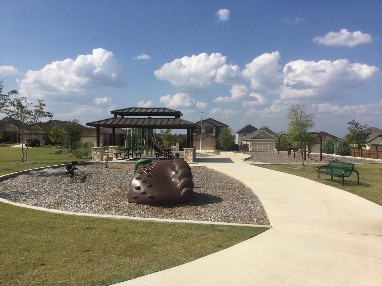 Playscape at La Conterra Park in Georgetown, TX