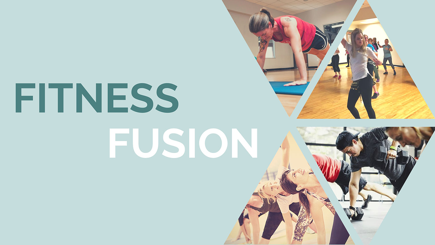 Fitness Fusion event logo