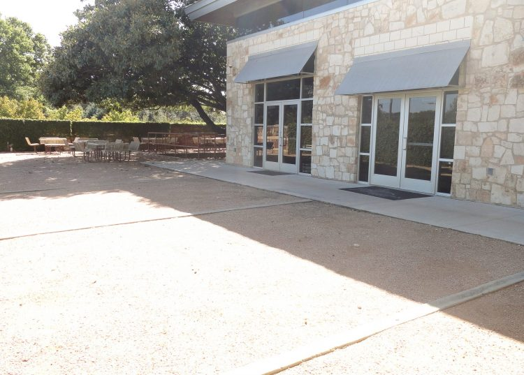 Courtyard at the Georgetown Community Center in Georgetown, TX