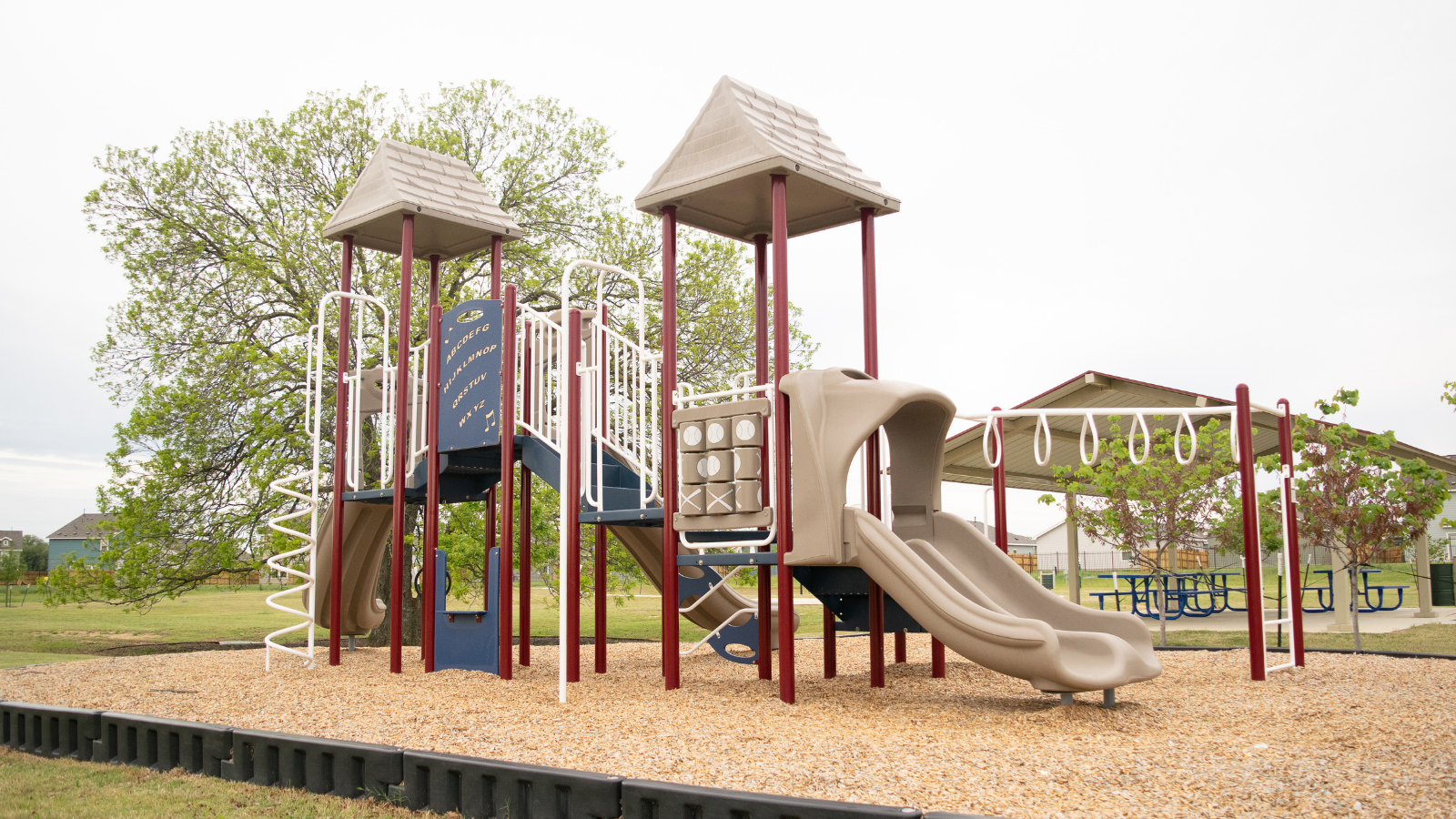 Playscape at Stillwater Park in Georgetown, tX
