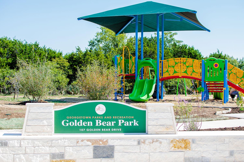 Golden Bear Park in Georgetown, TX