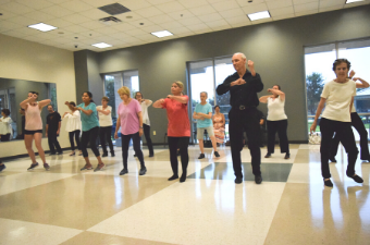 Dance class at the Georgetown Recreation Center