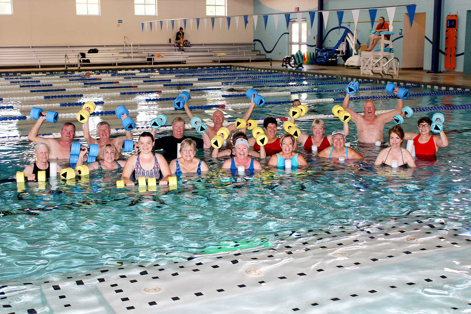 Water Aerobics at the Georgetown Recreation Center